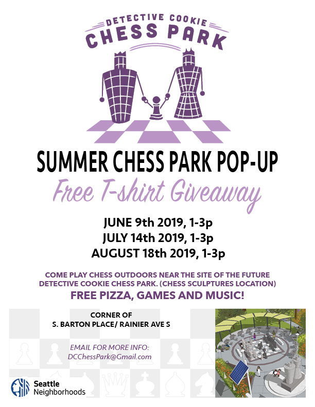 Summer Chess Park Pop-Up Event